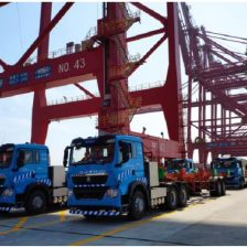 Chinese port uses 5G trucks
